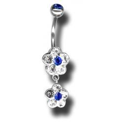 Swarovski Piercing ATCFLOWER02-G