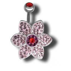 Swarovski Piercing ATCFLOWER07
